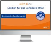 Lexikon für das Lohnbüro 2021 online - Arbeitslohn ...