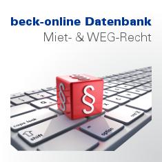 beck-online. Miet- und WEG-Recht Premium