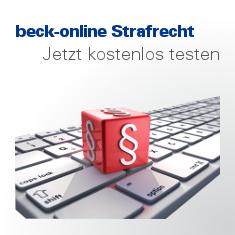 Beck-Online Strafrecht PLUS