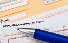 Überweisung / Banklastschrift (SEPA)