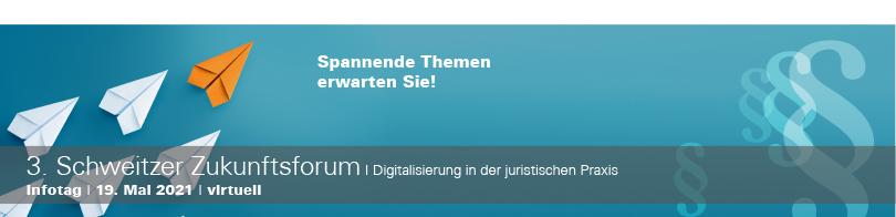 Schweitzer Zukunftsforum: Legal Tech