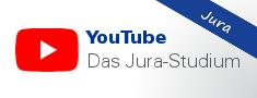 Infos rund ums Jura-Studium bei YouTube