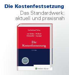 Eicken/Hellstab/Dörndorfer: Die Kostenfestsetzung