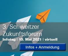 Anmeldung und Infos zum Schweitzer Zukunftsforum