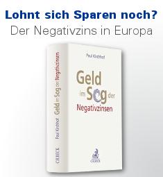 Geld im Sog der Negativzinsen, Kirchhof
